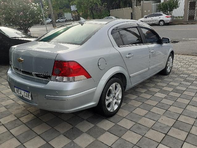 Chevrolet Vectra 2.0 Mpfi Elegance 8v 140cv Flex 4p Automatico