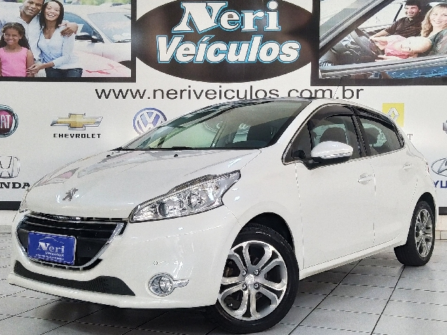 Peugeot 208 1.6 Griffe 16v Flex 4p Manual