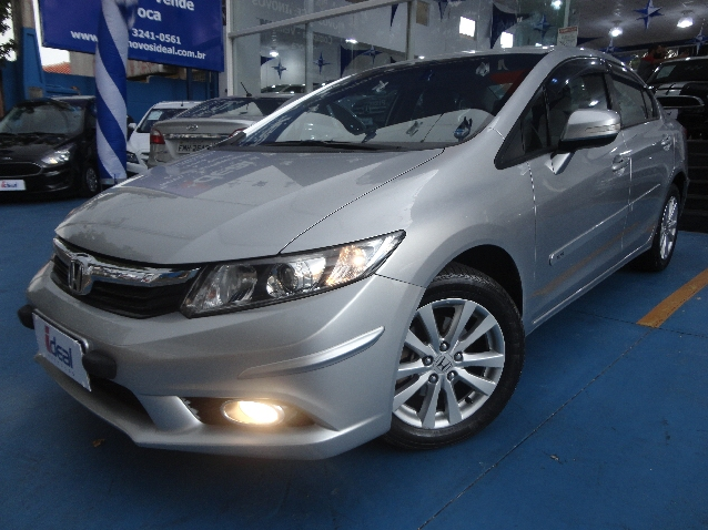 Honda Civic 2.0 Lxr 16v Flex 4p Automatico